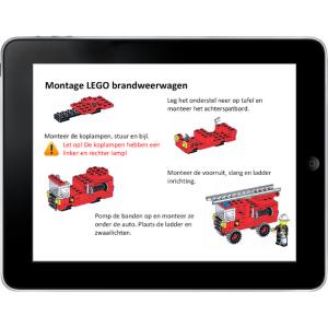 Digitale werkinstructie tablet